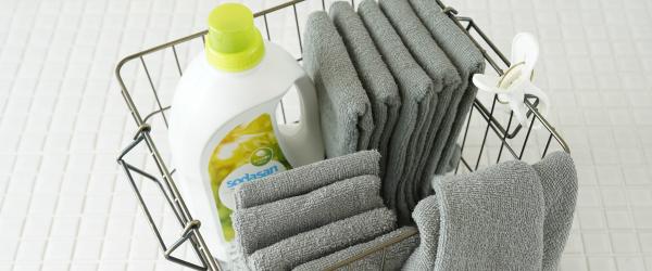 タオルの洗濯のコツ、正しい洗濯方法、干し方とは?